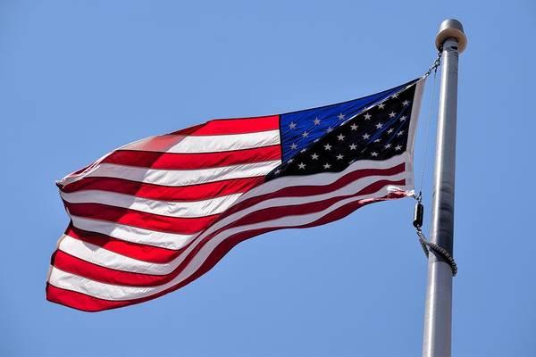 Photograph - The American Flag by Chance Kafka