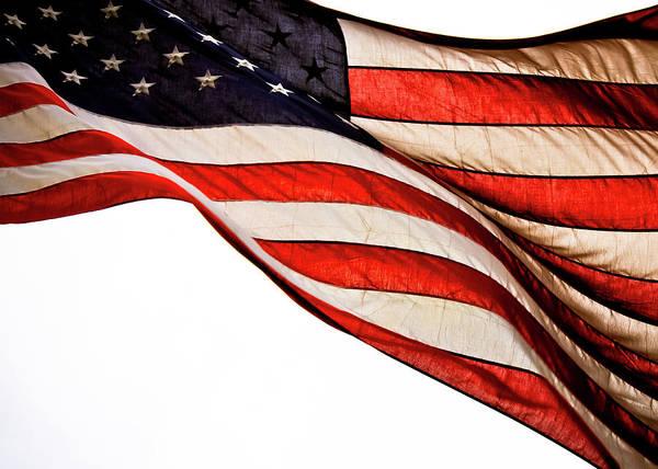 Usa Flag Photograph - The American Flag by Lisa Sullivan, Betty Photography