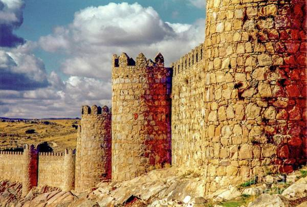 Photograph - The Ancient City Of, Avila, Spain - Medieval City Walls by D Davila