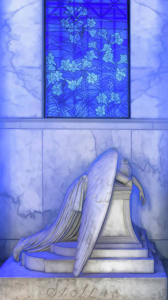 Photograph - The Angel Of Grief by Susan Rissi Tregoning