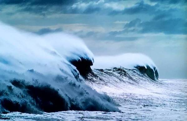 Wall Art - Photograph - The Angry Sea by Lord Frederick Lyle Morris - Disabled Veteran