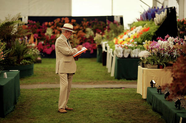 Court Photograph - The Annual Hampton Court Flower Show Is by Oli Scarff