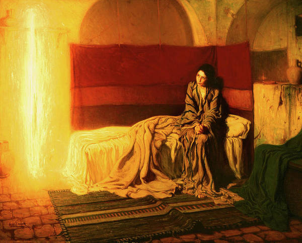 Wall Art - Painting -  The Annunciation, 1898 by Henry Ossawa Tanner