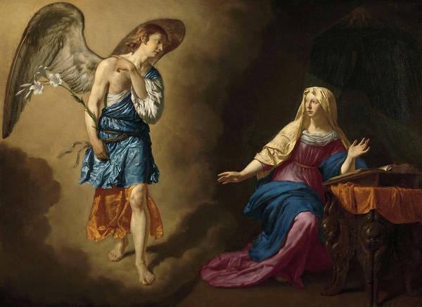 Wall Art - Painting - The Annunciation To The Virgin, 1667 by Adriaen van de Velde