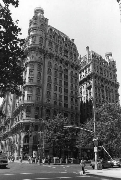 Photograph - The Ansonia by Fred W. McDarrah