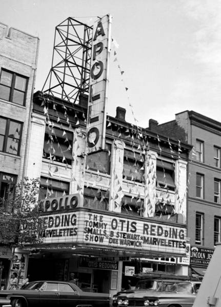 The Apollo Theater In Harlem. Otis Art Print by New York Daily News Archive