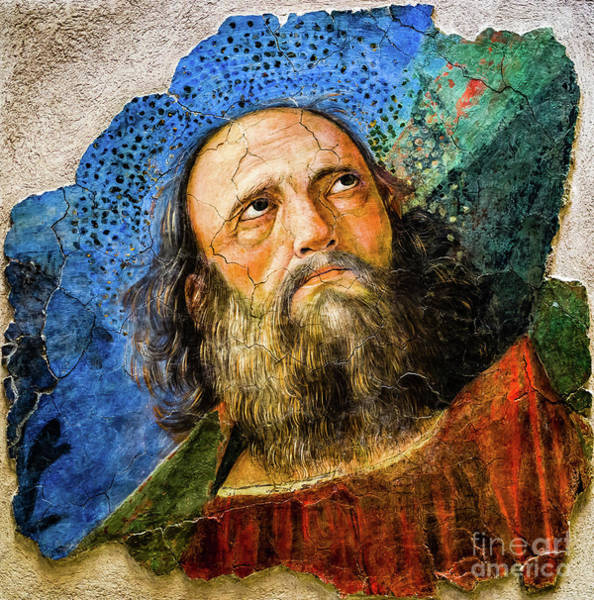 Painting - The Apostle Paul by Melozzo da Forti