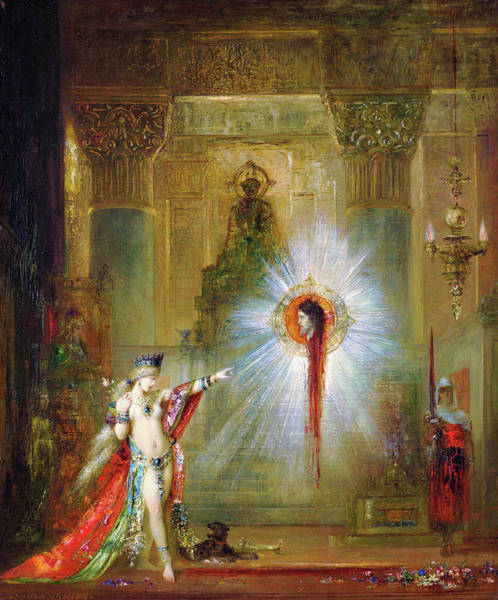 Wall Art - Painting - The Apparition - Digital Remastered Edition by Gustave Moreau