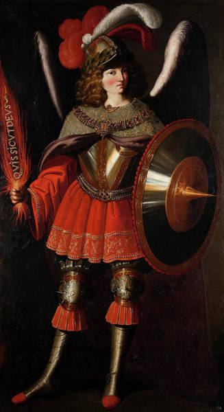 Wall Art - Painting - The Archangel Michael, 1664 by Francisco de Zurbaran