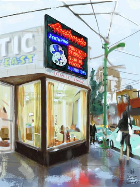 Vancouver City Digital Art - The Aristocratic by Hugh Chapman