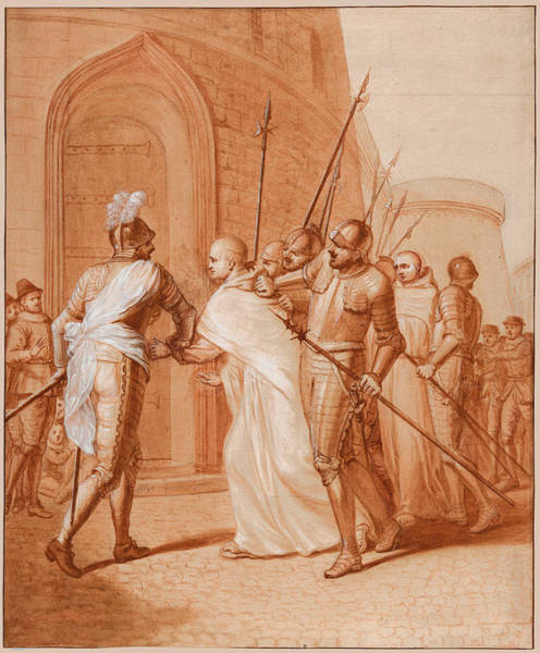 Photograph - The Arrest Of Jean De La Barriere By The League At Lombez by Matthieu Elias