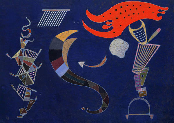 Wall Art - Painting - The Arrow, 1943 by Wassily Kandinsky