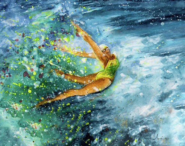 Painting - The Art Of Water Dancing 01 by Miki De Goodaboom