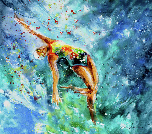 Painting - The Art Of Water Dancing 02 by Miki De Goodaboom