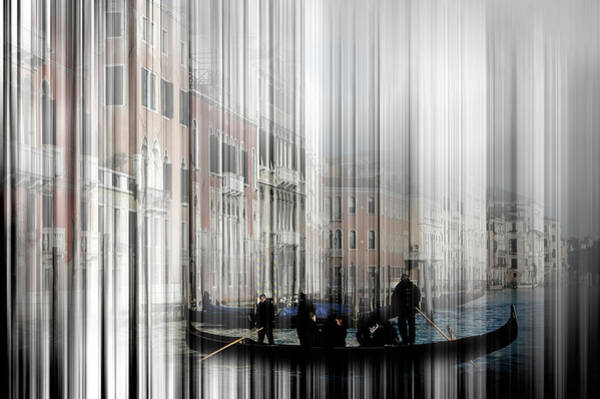 Photograph - The Artsy Venice 11 by Wolfgang Stocker