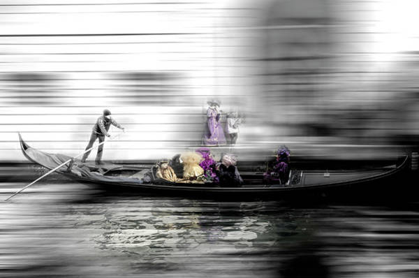 Photograph - The Artsy Venice 6 by Wolfgang Stocker