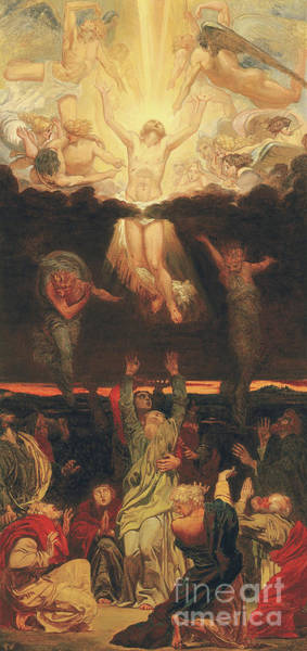 Rise Above Wall Art - Painting - The Ascension by Ford Madox  Brown