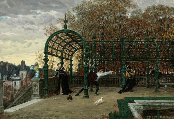 Wall Art - Painting - The Attempted Abduction by James Tissot