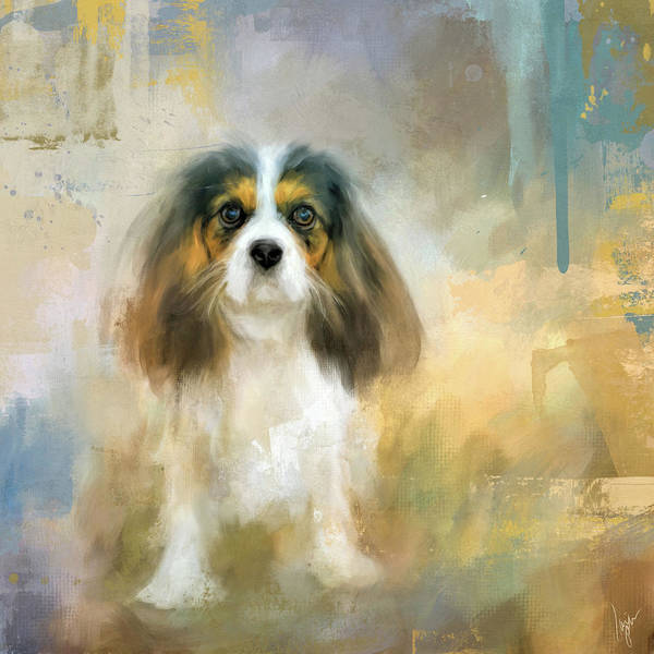 Painting - The Attentive Cavalier by Jai Johnson