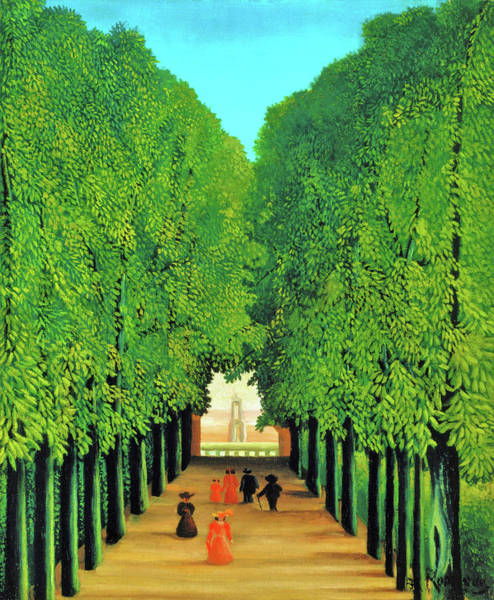Park Avenue Wall Art - Painting - The Avenue In The Park At Saint Cloud - Digital Remastered Edition by Henri Rousseau
