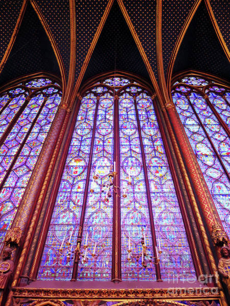Photograph - The Awe Of Sainte Chappelle by Rick Locke