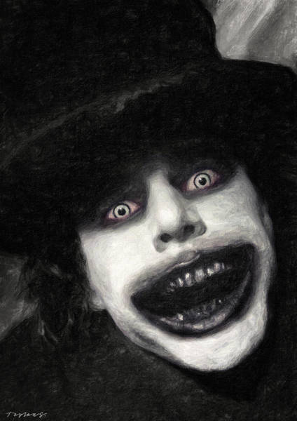 Wall Art - Painting - The Babadook by Zapista Zapista