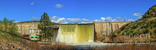 Wall Art - Photograph - The Back Canyon Dam by Robert Bales