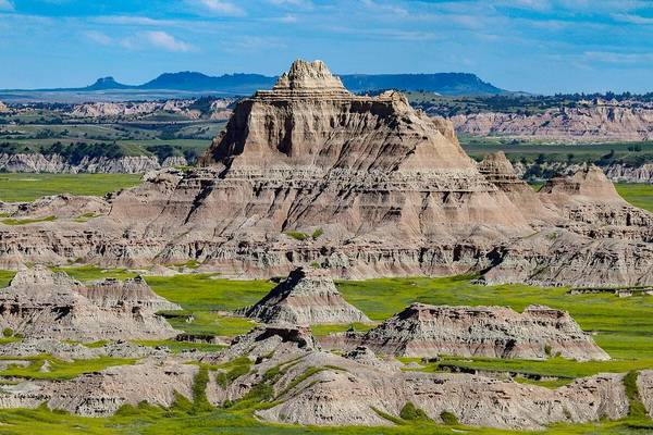 Photograph - The Badlands Of South Dakota by Susan Rydberg