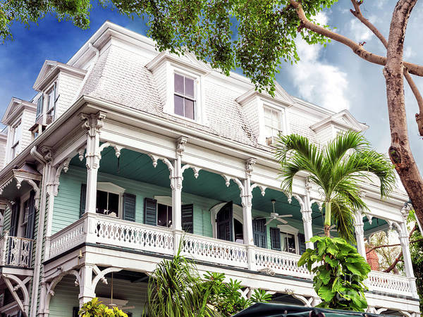 Photograph - The Balcony In Key West by John Rizzuto