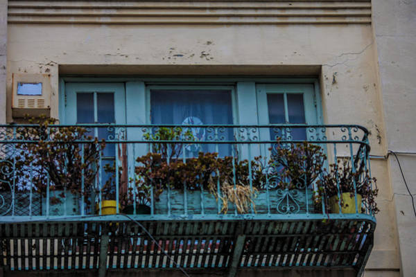 Wall Art - Photograph - The Balcony by Justine Fenu