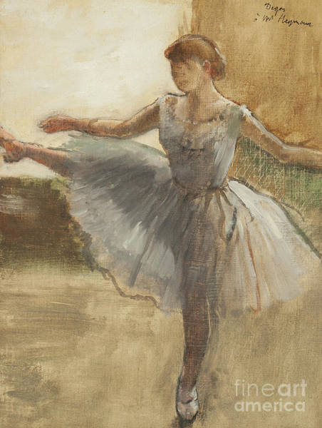 Wall Art - Painting - The Ballerina, Circa 1876  by Edgar Degas