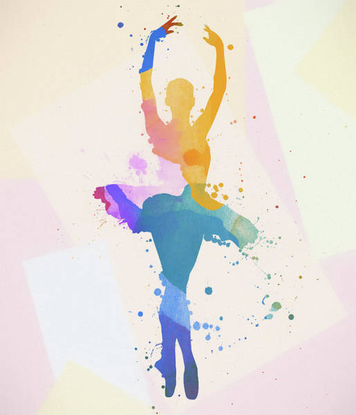 Painting - The Ballerina by Dan Sproul
