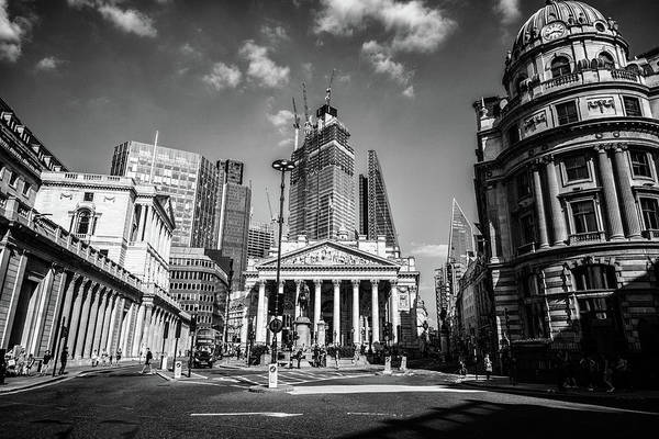 Wall Art - Photograph - The Bank Of England by Martin Newman