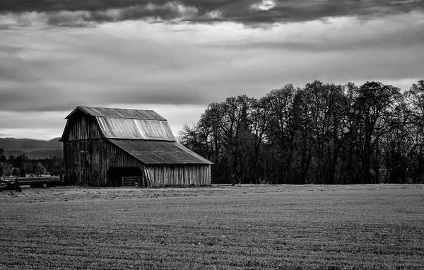 Photograph - The Barn by Steven Clark