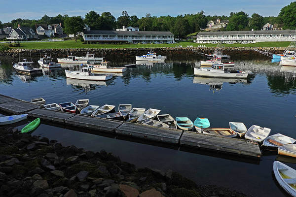 Wall Art - Photograph - The Basin Ogunquit Maine Boats by Toby McGuire