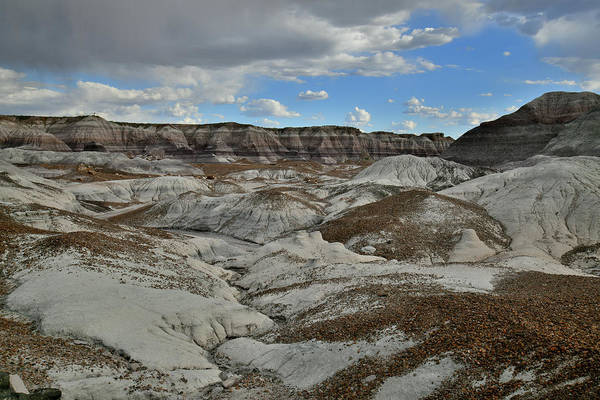 Photograph - The Basin Of Blue Mesa In Petrified Forest by Ray Mathis