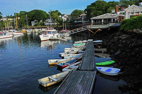 Wall Art - Photograph - The Basin Ogunquit Maine Boats Perkins Cove Harbor by Toby McGuire