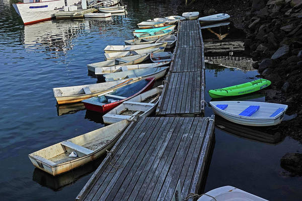 Wall Art - Photograph - The Basin Ogunquit Maine Boats Perkins Cove by Toby McGuire