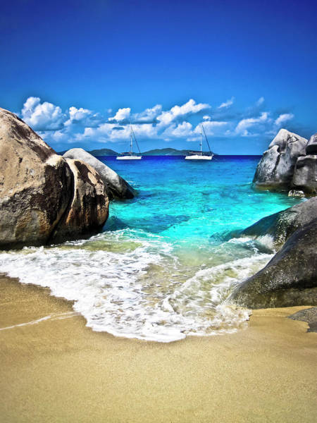 Caribbean Photograph - The Baths Of Virgin Gorda by Bob Webb