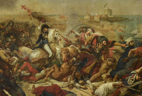 Wall Art - Painting - The Battle Of Abukir, 1799 by Antoine-Jean Gros
