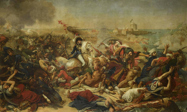 Wall Art - Painting - The Battle Of Abukir, 1799 by Baron Antoine-Jean Gros