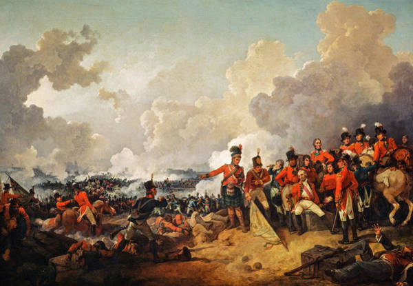 Wall Art - Painting - The Battle Of Alexandria, 1801 by Philip James de Loutherbourg
