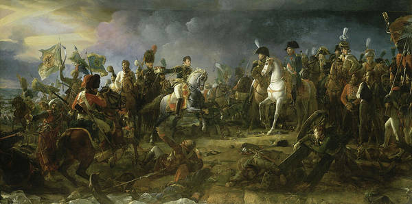 Wall Art - Painting - The Battle Of Austerlitz, 1805 by Francois Gerard