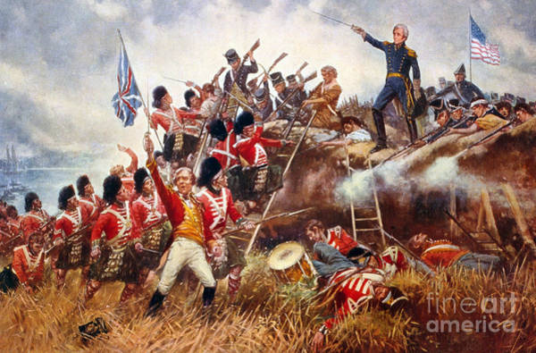 Wall Art - Painting - The Battle Of New Orleans, 1815 by Percy Moran