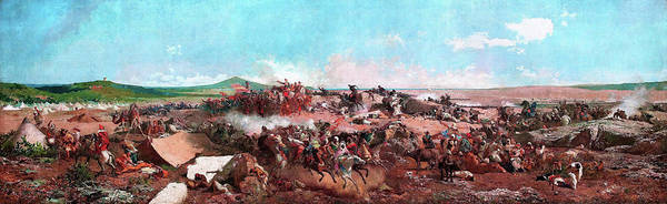 Wall Art - Painting - The Battle Of Tetouan - Digital Remastered Edition by Mariano Fortuny