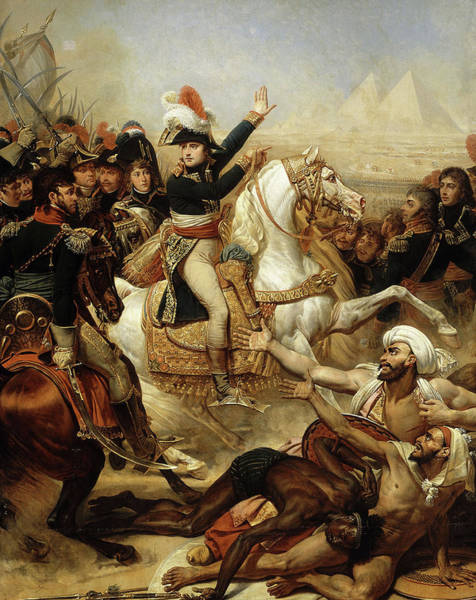 Wall Art - Painting - The Battle Of The Pyramids, 21st July 1798 by Antoine-Jean Gros