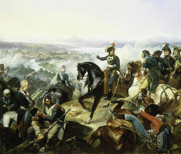 Wall Art - Painting - The Battle Of Zurich, 1799 by Francois Bouchot