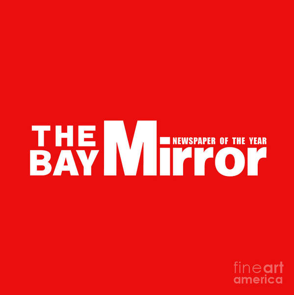 Phoebe Digital Art - The Bay Mirror Logo by The Halliwell Ones
