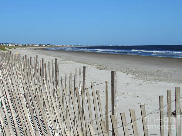 Photograph - The Beach At Holden Beach North Carolina by Roberta Byram