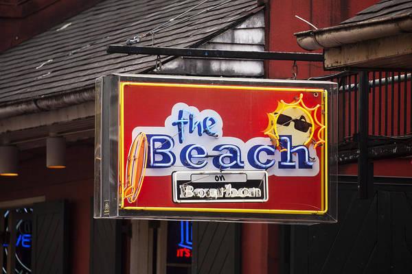 Wall Art - Photograph - The Beach On Bourbon Street by Art Block Collections